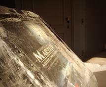 Escultura de Livro em Gelo