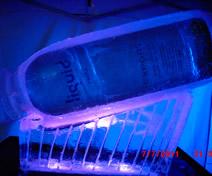 Esculturas em Gelo de Garrafa de Vodka