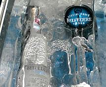 Escultura em Gelo Vodka Belvedere