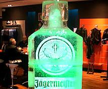 Escultura em Gelo Lançamento da Jagermeifter