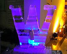Escultura de Gelo Os quatro Elementos