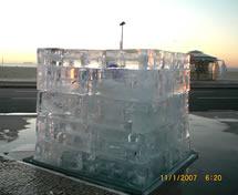 Escultura em Gelo Ação Johnson Copacabana