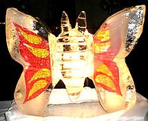 Escultura em Gelo para Formatura de Direito