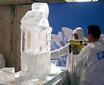 Escultura em Gelo para o SESC
