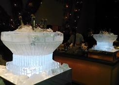 Escultura em Gelo no Casamento da Casa Fasano