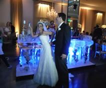 Escultura em Gelo em Casamento