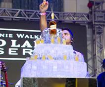 Escultura de Bolo em Gelo para Festa