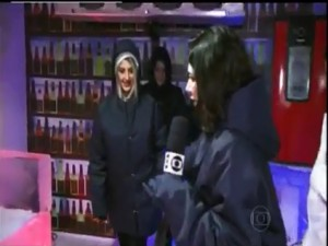 Shopping Metrô Itaquera tem atração no gelo