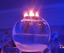 Escultura em Gelo para Festa de 15 Anos
