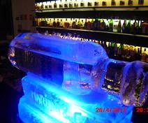 Escultura em Gelo da Absolut no Casamento