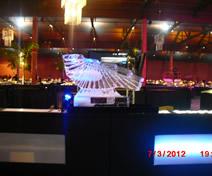 Escultura em Gelo de Tobogã de Bebida