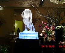 Escultura em Gelo para Casamento Daslu