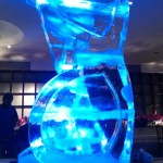 Esculturas de Gelo na Casa Fasano Luxottica