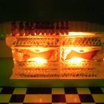 Escultura de gelo Ice Bar da Ambev