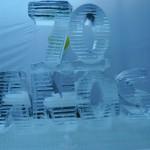 Escultura em Gelo dos 70 anos Hospital HASP
