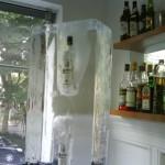 Escultura em Gelo de uma Coqueteleira