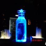 Escultura em Gelo de Coqueteleira de Vodka