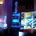 Esculturas em Gelo no Concerto no Espaço SP