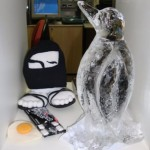 Esculturas em Gelo para o Lançamento do Refrigerador LG
