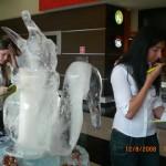 Escultura de Gelo para Lançamento Era do Gelo