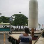 Escultura Sorvete Gigante de Gelo Kibom
