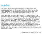 Escultura em Gelo para Anglo Gold