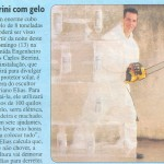 Escultura em Gelo na Revista Veja