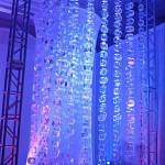 Escultura de Cortina de Gelo para Eventos
