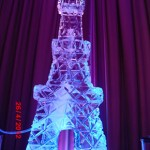 Escultura de Coqueteleira em Gelo para Festas