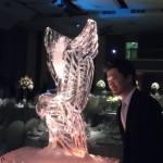 Escultura em Gelo de Águia