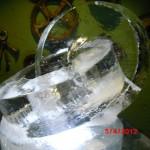 Escultura em Gelo de Centro de Mesa