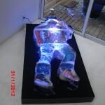 Escultura em Gelo da Vernissage