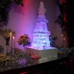 Escultura em Gelo Torre Eiffel para Casamento