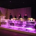 Escultura de Ice Bar Feita para Casamento