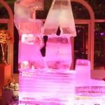 Escultura em Gelo no Aniversário da Carol