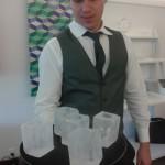 Esculturas em Gelo de um Ice Bar
