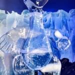 Esculturas em Gelo dos personagens do filme A era do gelo