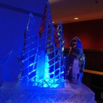 Escultura em Gelo no Evento Accor