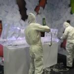 Escultura em gelo para Performance Ipiranga