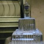 Escultura em Gelo de Bolo com Shot