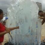 Escultura em Gelo Cristal para Ação da Off