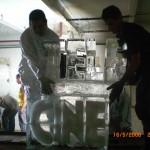 Escultura em Gelo para o Telecine Premium