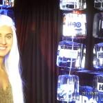 Escultura de Gelo para o Game Of Thrones na HBO