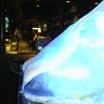 Escultura em Gelo no Festival do Canadá