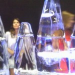 Escultura em Gelo para Vodka Smirnoff