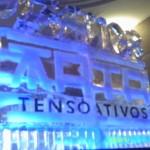 Escultura em Gelo na comemoração 25 anos Ata Tensoativos