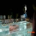 Escultura em Gelo para o Sorvete Magnum