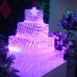 Escultura de Bolo de Gelo para Festa Debutante