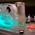 Escultura em Gelo Empilhadeira Clark