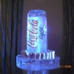 Escultura em Gelo Coca-Cola Light
